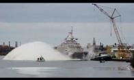 Kaip nuleidžia laivus ant vandens