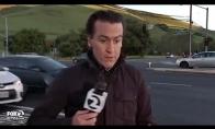 Reporteris vos išvengia skaudžios nelaimės