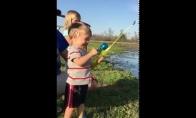 Pirmoji vaiko žuvis