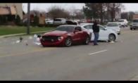 Kai Mustangą vairuoja idiotas