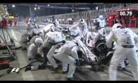 Greičiausias sustojimas F-1 lenktynėse