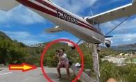 Turistas tik per plauką lieka su galva ant pečių