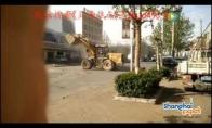 Buldozerių karai vidury gatvės