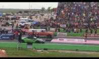 Fermerio mašiniukas vs Lamborghini