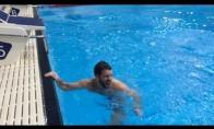 Geriausias šuolis į baseiną