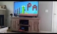 Mario gerbėjas originaliai pasiperša savo merginai