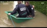 Nevykę Prancūzijos pareigūnai