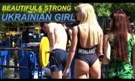 Ukrainietės sportuoja gamtoje