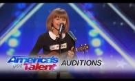 Mergaitė pribloškia talentų komisiją
