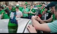Airijos fanai sutvarko pačių apgadintą mašiną