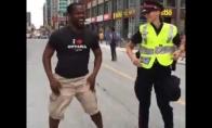 Šokiai su policija