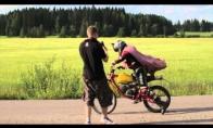 Salto su motociklu