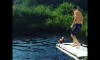 Kaip reikia šokt į vandenį