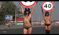 Kaip Rusijoje kovojama su greičio mėgėjais