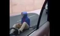 Netikėtas transportas greitkelyje