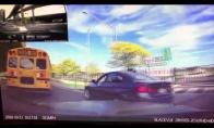 Nekantrus vairuotojas gauna skaudžią pamoką