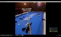 Snūkerio pasaulio čempionas žaidžia su virtualios realybės akiniais