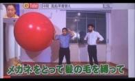 Japonai bando sulysti į balioną