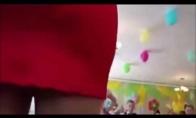Kaip tėtis mokyklinį žiburėlį filmavo
