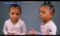 Dvynukė nuliūsta, kai sužino, kad yra minute jaunesnė