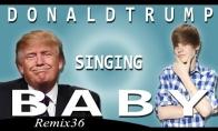 Trampo dainelė rinkėjams