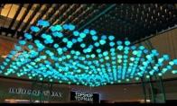 Interaktyvi kinetinės šviesos skulptūra
