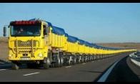 Sunkvežimis su 110 ratų