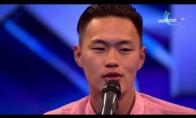 Mongolas įspūdingai dainuoja Country stiliaus dainą (Mongolia's got talent)