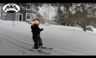 2 metų vaiko pirmas čiužinėjimas