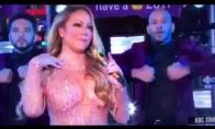 Mariah Carey susimauna per naujų metų pasirodymą