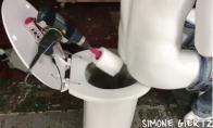 Užpakalio valymo robotas