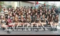 Taivano politiko laidotuvėse - 50 striptizo šokėjų
