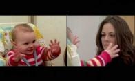 Mama ir kūdikis: ramaus veido eksperimentas