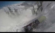 Kai slidininką pasigauna sniego lavina