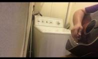 Duetas su skalbimo mašina