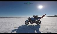 Pabėgęs motociklas