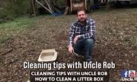 Kaip išvalyti katės dėžutę vyriškai