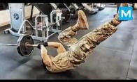 Kaip treniruojasi JAV kariai