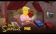 Simpsonai apie Trumpo prezidentavimo šimtadienį