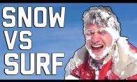 FAIL ant sniego V.S. and vandens
