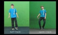 Kaip du metai pakeičia šokio judesius