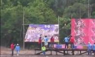 Masyvus fejerverkas Tailande