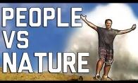 Žmonės prieš gamtą