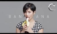 Kaip nereikėtų valgyti banano