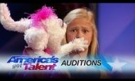12-metė pilvakalbė talentė