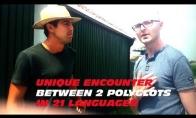 Kai susitinka du poliglotai