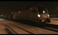 Kaip užsiveda vokiškas Siemens elektrinis traukinys
