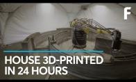3D atspausdintas namas už 10,000 dolerių