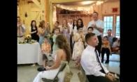 Kiekvienose vestuvėse privalomas žaidimas