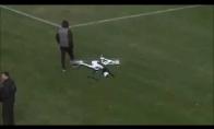 Tikras snaiperis numuša droną